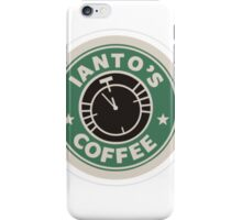 Torchwood Ianto's Coffee iPhone Case/Skin