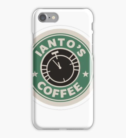 Torchwood Ianto's Coffee iPhone Case/Skin