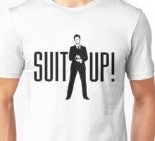 Barney Its Time Suit up Unisex T-Shirt