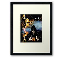 Dark Wizard Framed Print