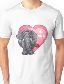 Elephant Valentine's Day Unisex T-Shirt