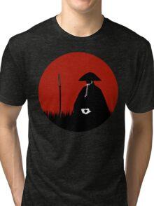 Meditating Warrior Tri-blend T-Shirt