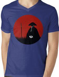 Meditating Warrior Mens V-Neck T-Shirt