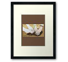 befriend the earth Framed Print