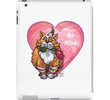 Ginger Cat Valentine's Day iPad Case/Skin
