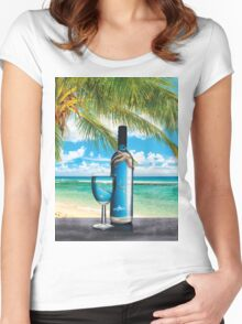 Sea Life  Women's Fitted Scoop T-Shirt