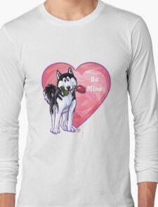 Husky Valentine's Day Long Sleeve T-Shirt