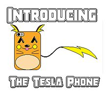The Tesla Phone! Photographic Print