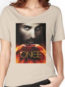 Captain Hook OUAT. Underworld. Women's Relaxed Fit T-Shirt