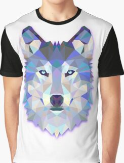 Triangle wolf Graphic T-Shirt