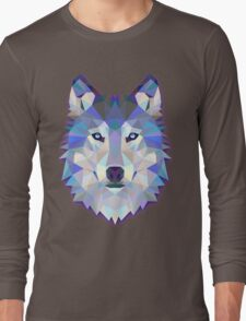 Triangle wolf Long Sleeve T-Shirt