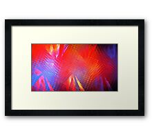 Gamma Rays Framed Print