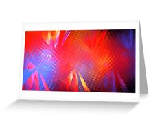 Gamma Rays Greeting Card