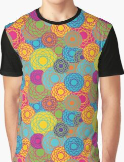 Abstract Seamless Floral Background  Graphic T-Shirt
