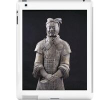 Terracotta soldier iPad Case/Skin