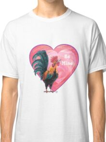 Rooster Valentine's Day Classic T-Shirt