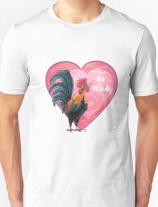 Rooster Valentine's Day Unisex T-Shirt
