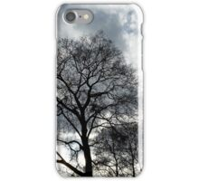 clouds and branches iPhone Case/Skin