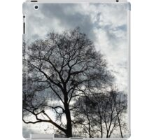 clouds and branches iPad Case/Skin
