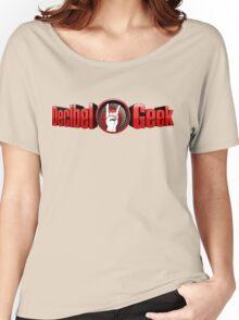 Decibel Geek 3D Logo Women's Relaxed Fit T-Shirt