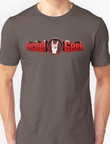 Decibel Geek 3D Logo T-Shirt