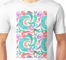 Party Confetti Ribbon Watercolor Design Unisex T-Shirt