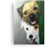 Max & Paddy  Canvas Print