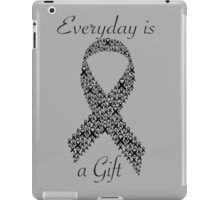 Cancer Ribbon iPad Case/Skin