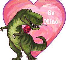 Tyrannosaurus Valentine's Day by ImagineThatNYC