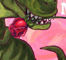 Tyrannosaurus Valentine's Day Sticker