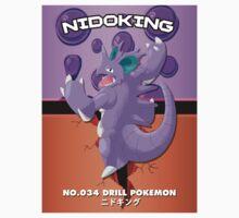 Pokemon Print - Nidoking Kids Clothes