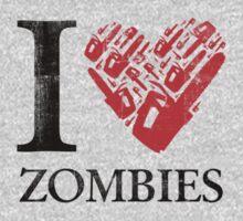 I Chainsaw Zombies by Bigmom