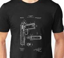 1911 Patent Blueprint Unisex T-Shirt