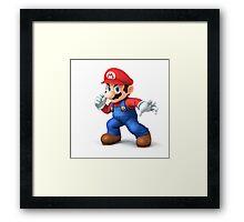 Super Mario Merchandise! Framed Print