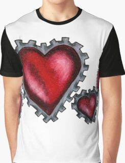 Heart Gears Graphic T-Shirt