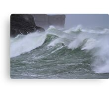 Surfers Point - The Paddle Canvas Print