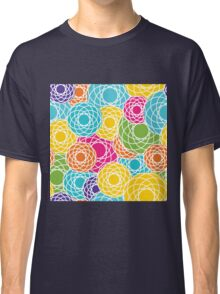 Abstract Seamless Floral Background  Classic T-Shirt