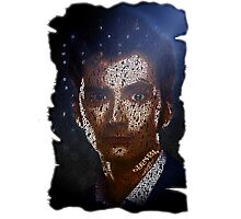 Color Typography Art Tenth Doctor Photographic Print