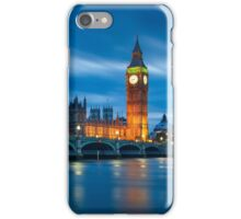 Houses of Parliament at Night iPhone Case/Skin
