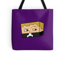 Suspicious Minecraft Character Tote Bag