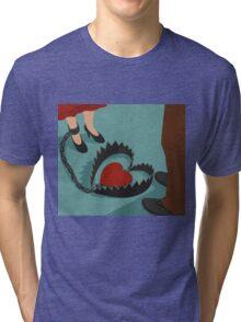 Heart trapped Tri-blend T-Shirt