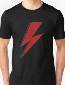 In memory of David Bowie Unisex T-Shirt