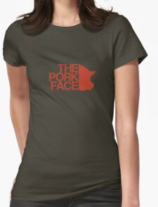 the pork face Womens Fitted T-Shirt