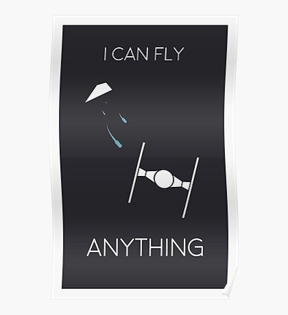 Star Wars - I Can Fly Anything Poster