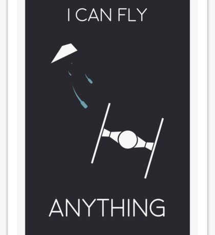 Star Wars - I Can Fly Anything Sticker