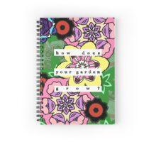 Nursery Rhyme - Garden Spiral Notebook