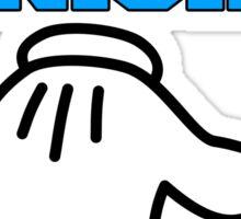 4 Inch Punisher! Funny Logo! Sticker