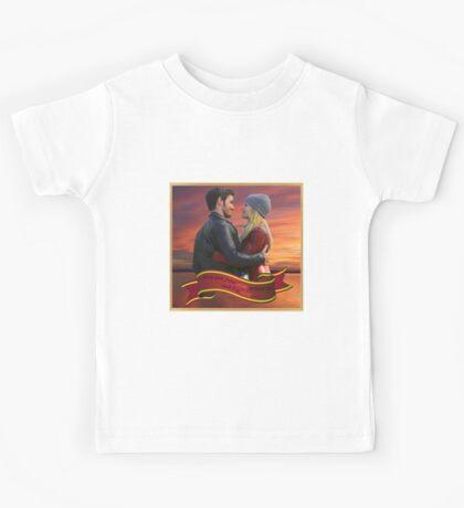 Once Upon A Time - Captain Swan Kids Tee