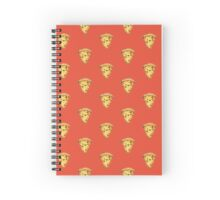 Kawaii Pizza Slice Spiral Notebook