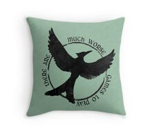 There are worse games Throw Pillow